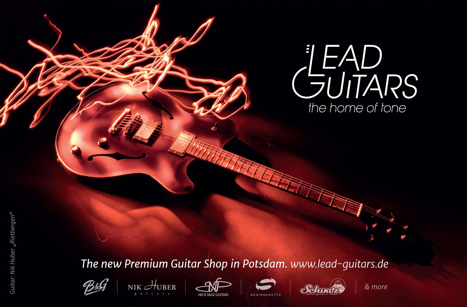 lead guitars germany